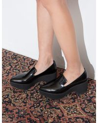 Jeffrey Campbell - Black Sinead Platform Loafers - Lyst