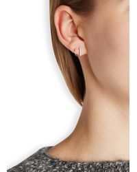 Maria Black | Metallic Sanae Twirl Diamond Silver Earrings | Lyst