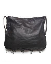 En Shalla - Black Beaded Cross Body Bag - Lyst