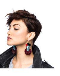 Lulu Frost - Purple 100 Year Earring #5 - Lyst