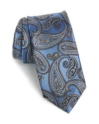 JZ Richards | Blue Paisley Silk Tie for Men | Lyst