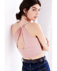 Truly Madly Deeply | Pink One Shoulder Tank Top | Lyst
