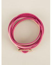 Fendi | Purple Wrap Around Bracelet | Lyst