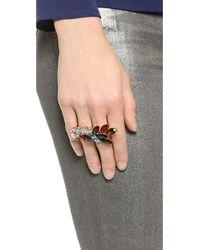 Jenny Packham | Multicolor Bianca Ii Ring - Multi | Lyst