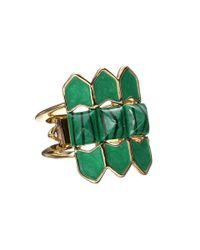 House of Harlow 1960 | Green Sugarloaf Ring | Lyst