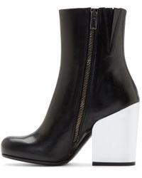 McQ - Black 'geffrye' Boots - Lyst