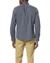 Ben Sherman - Blue Micro Gingham Regular Fit Shirt for Men - Lyst