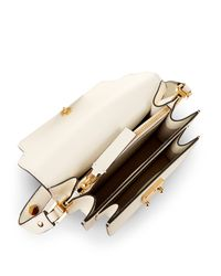 Marni - White Trunk Mini Leather Shoulder Bag - Lyst