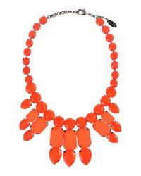 Roberto Cavalli   Orange Necklace   Lyst