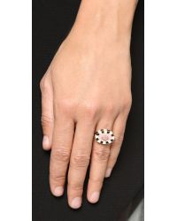 Holly Dyment | Multicolor Mini Lip Diamond Ring - Multi | Lyst