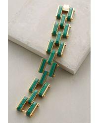 Lele Sadoughi | Green Garden Fence Bracelet | Lyst