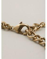 Dolce & Gabbana - Metallic Madonna Necklace - Lyst