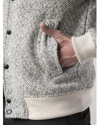 Timberland | Gray Johansen Varsity Jacket for Men | Lyst