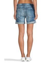 Citizens of Humanity | Blue Skyler Low Rise Short | Lyst