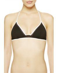 La Perla | Black Triangle Bikini Top | Lyst