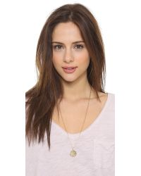 Phyllis + Rosie | Metallic Cecile Necklace - Gold | Lyst
