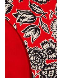 J.Crew | Red Showater Reversible Bikini Briefs | Lyst