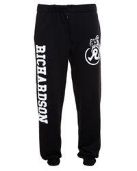 Rosie Assoulin | Black Printed Sweatpants | Lyst