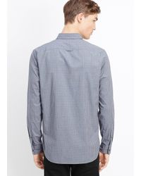 Vince - Blue Melrose Gingham Button Up for Men - Lyst