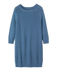 Toast | Blue Cotton Textured Tunic | Lyst
