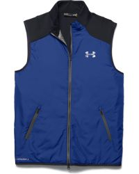 Under Armour | Blue Tips Coldgear Gilet for Men | Lyst