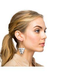 Lulu Frost - Metallic Elizabeth Drop Earring - Lyst