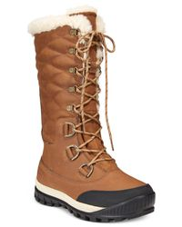 BEARPAW | Brown Isabella Waterproof Cold Weather Boots | Lyst