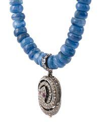 Loree Rodkin - Blue Embellished Bracelet - Lyst