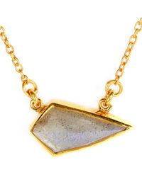 Katie Diamond Jewelry | Metallic Scarlett Necklace | Lyst