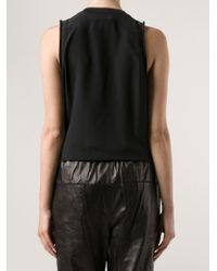 3.1 Phillip Lim | Black 'lights Out' Tank | Lyst