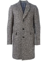 PS by Paul Smith - Multicolor Single Breasted Overcoat for Men - Lyst