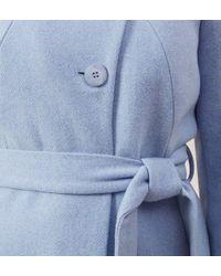 Hobbs | Blue Austen Coat | Lyst