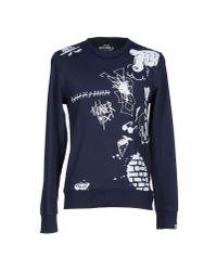 Originals By Jack & Jones - Blue Sweatshirt for Men - Lyst