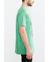Urban Outfitters - Green Elf Santa's Coming Tee for Men - Lyst