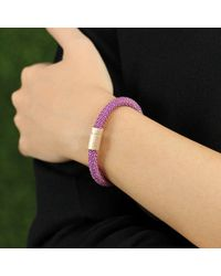 Carolina Bucci | Purple Violet Twister Band Bracelet | Lyst