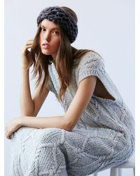 Free People - Blue Womens Slight Chill Knit Headband - Lyst