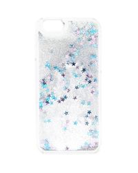 Forever 21 | Blue Glitter And Star Case For Iphone 6 | Lyst