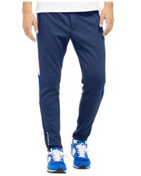 Polo Ralph Lauren | Blue Polo Sport Tech Fleece Track Pants for Men | Lyst