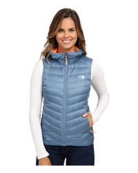 The North Face | Blue Tonnerro Hooded Vest | Lyst
