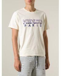 KENZO   Black ' Paris' T-Shirt for Men   Lyst