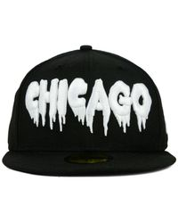 KTZ - Black Chicago White Sox Team Trill 59Fifty Cap for Men - Lyst