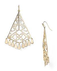Kendra Scott | Metallic Sami Earrings | Lyst