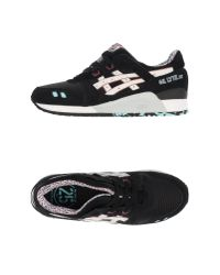 Asics - Black Low-tops & Trainers - Lyst