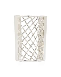 BCBGMAXAZRIA - Metallic Lattice Cuff - Lyst