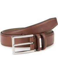 Ted Baker - Jollent Leather Belt Brown for Men - Lyst