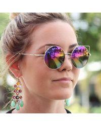 Irene Neuwirth - Multicolor Mint Chrysoprase Chandelier Earrings - Lyst
