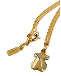 Tous - Metallic Necklace - Lyst