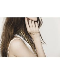 Jenny Bird - Metallic Serpentwine Palm Cuff - Lyst