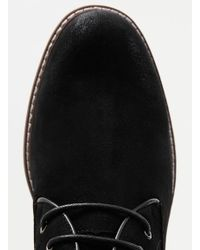 TOPMAN - Black Suedette Chukka Boots for Men - Lyst
