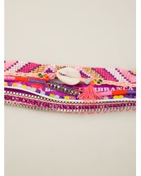 Hipanema | Multicolor Fluo Purple Bracelet | Lyst